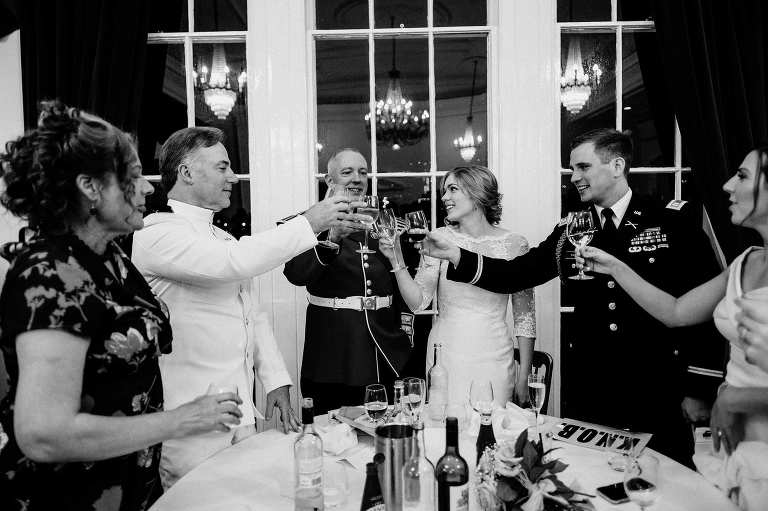 Old Royal Naval College Chapel wedding in Greenwich