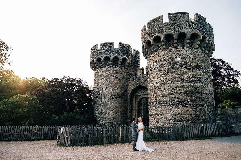 Summer Cooling Castle wedding