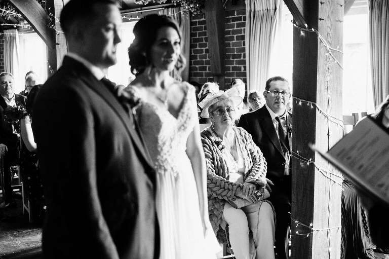 November wedding at The Ferry House Inn with Cassie and Tony