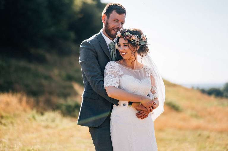 September wedding at Ruffynes Barn with Amy and Dan
