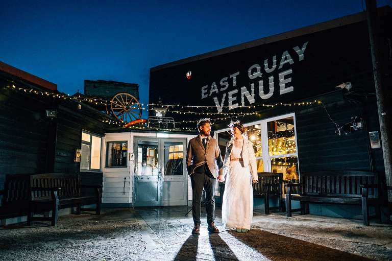 October Wedding at East Quay Venue