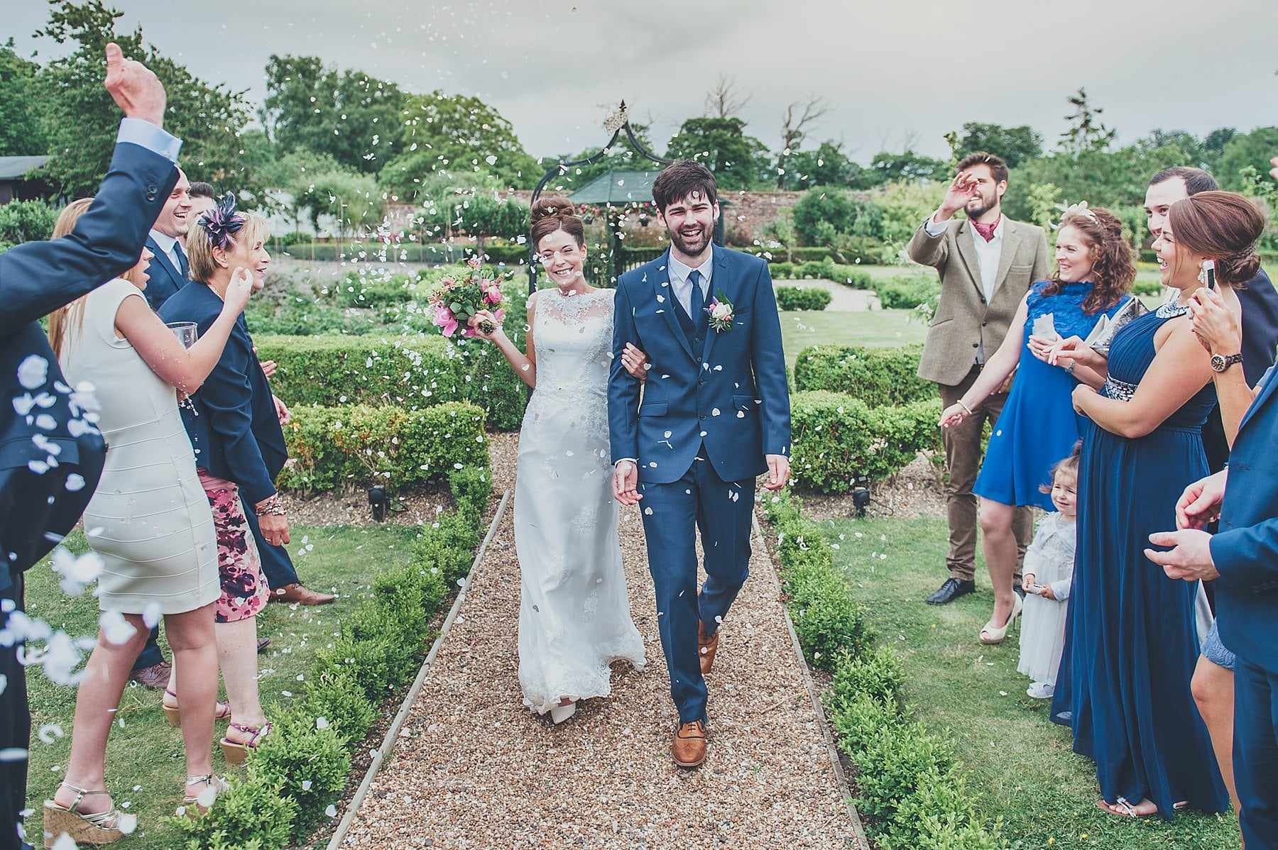 the secret garden wedding in kent with sarah and tom