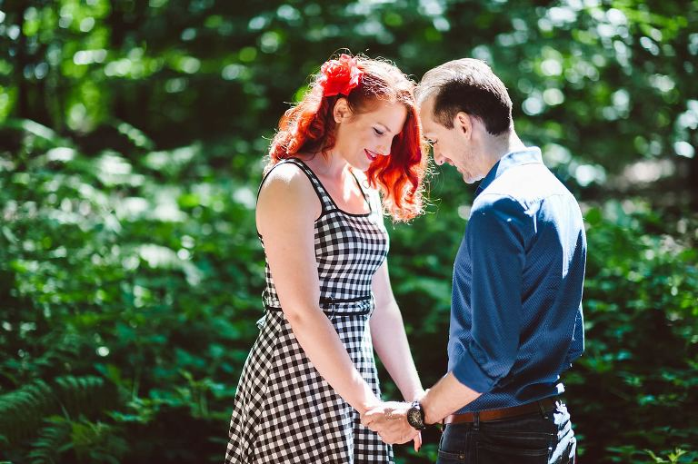 Kent Village Engagement Shoot In Kilndown With Jade and Andrew.