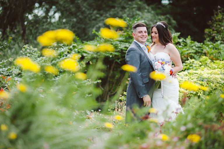 Elegant wedding at Bromley Court Hotel with Dee and Edd