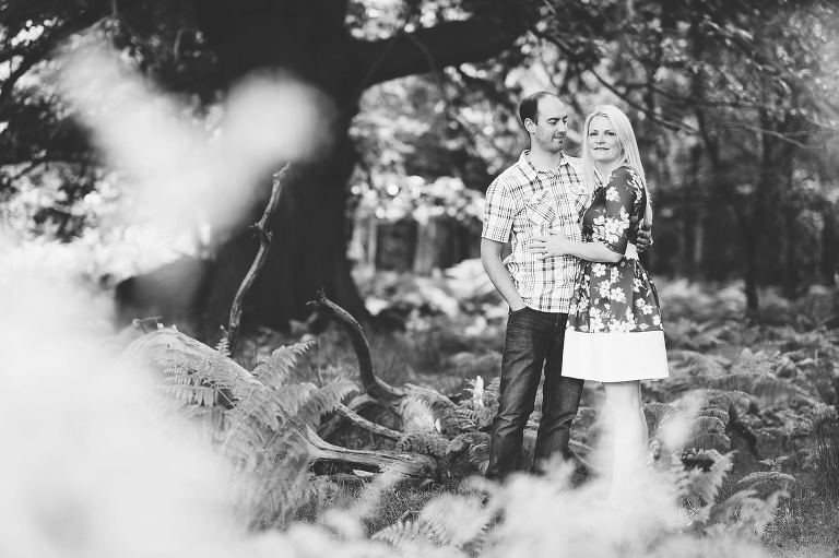 Engagement Shoot At Knole Park With Vicki and Will.