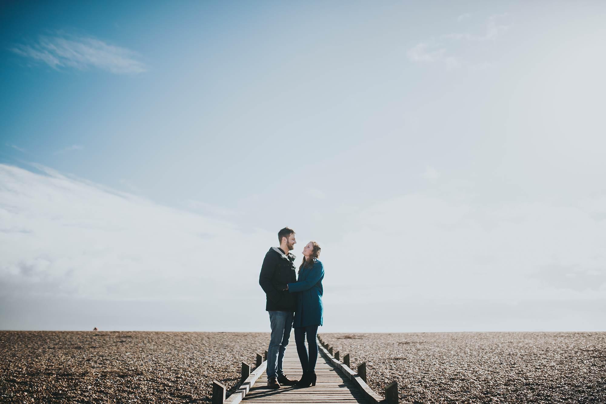 Dungeness pre-wedding shoot