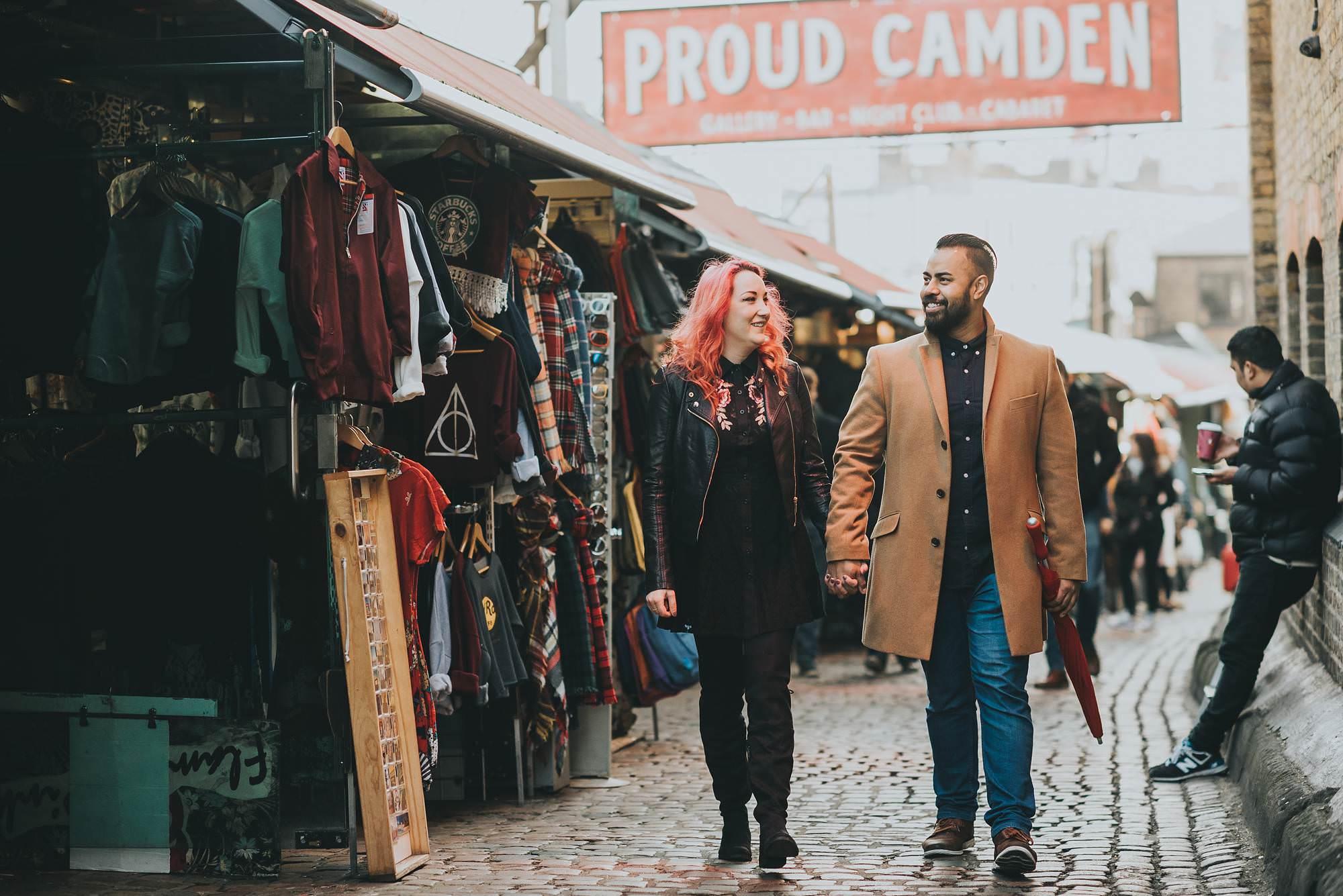 Pre wedding shoot in Camden Town