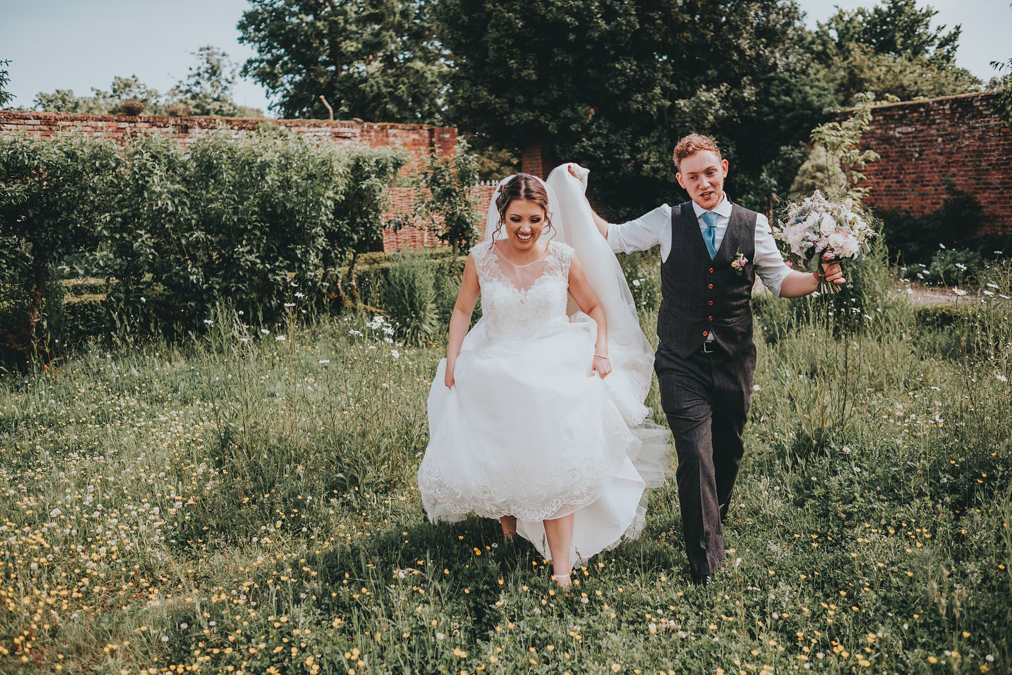 secret garden wedding in kent lauren and harvey