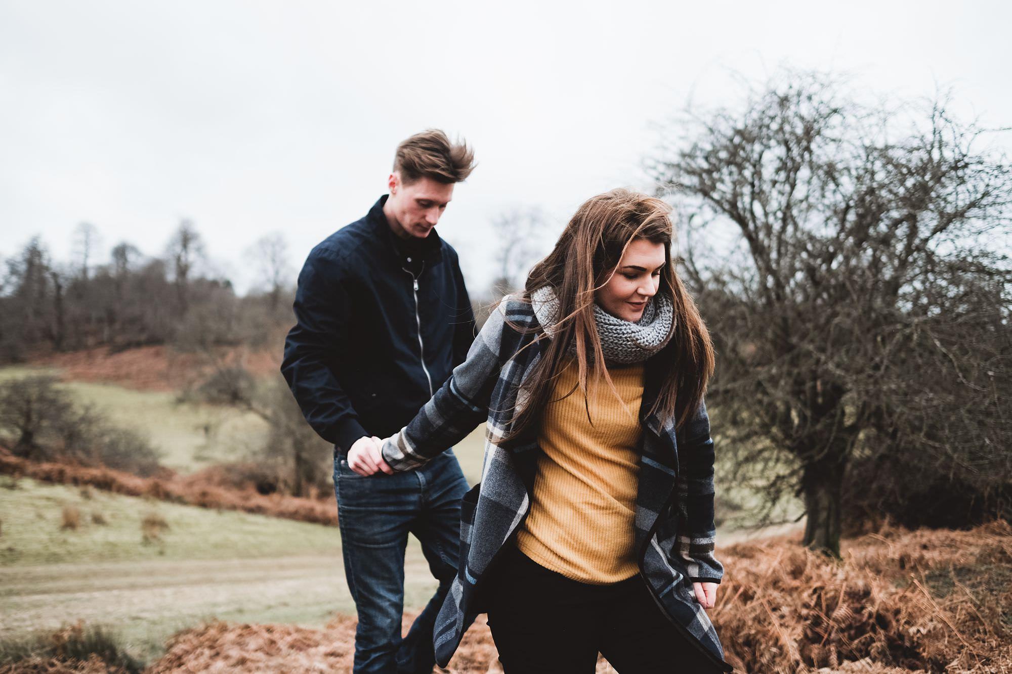 Engagement shoot at Knole Park