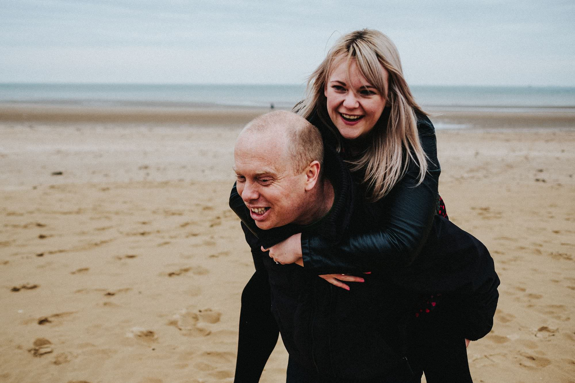 Margate engagement shoot with Kirsty and Simon