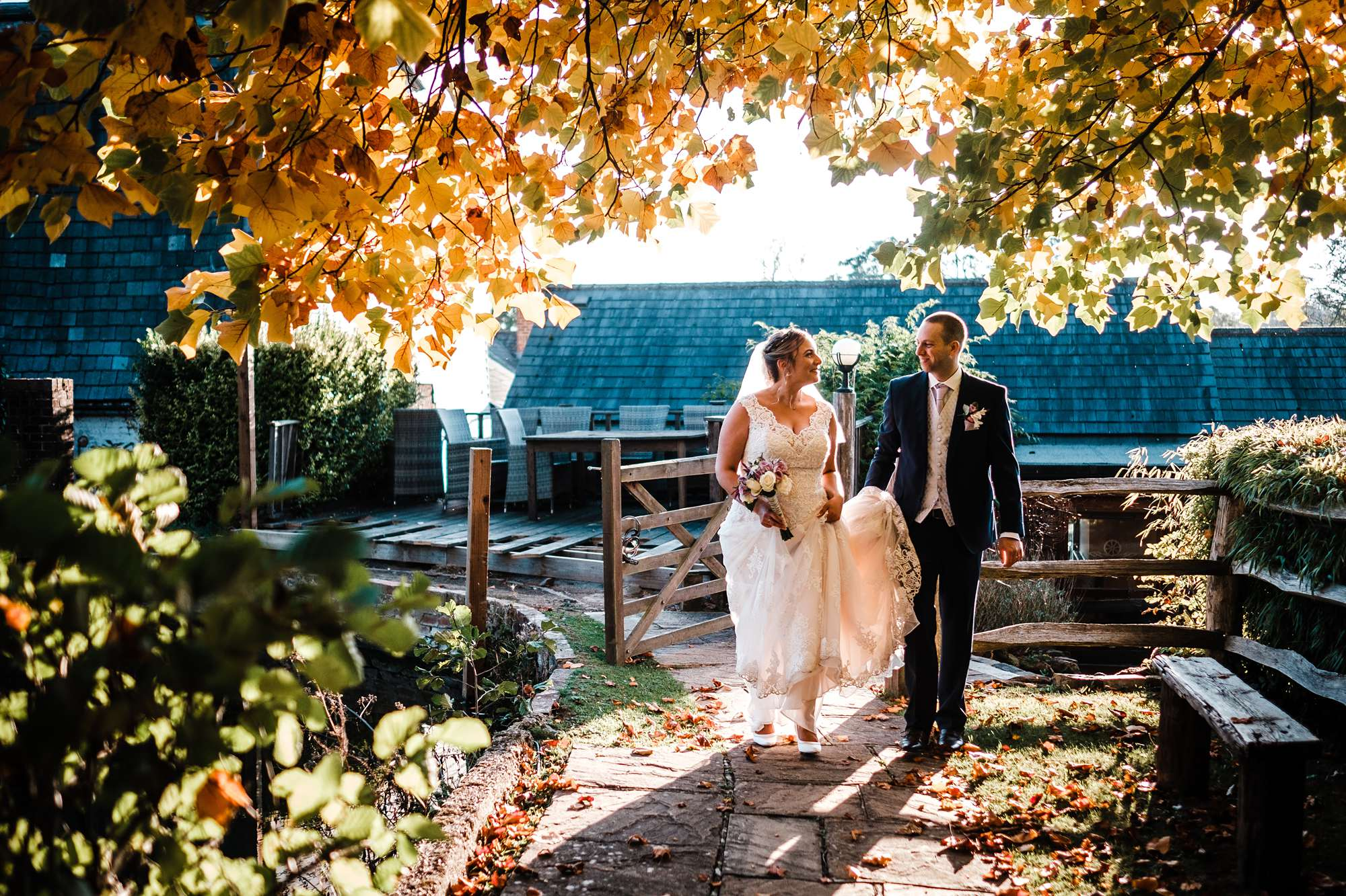 Wedding at Coltsford Mill in Surrey