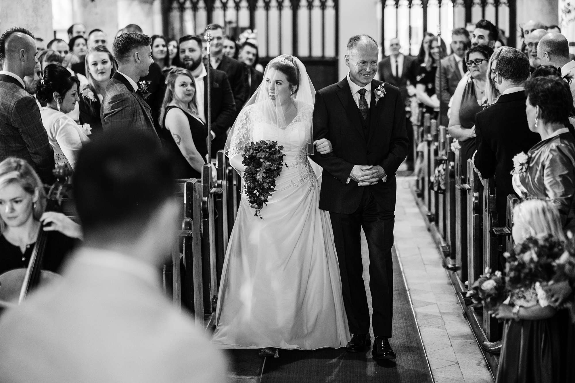 St Helen's Church, Cliffe wedding