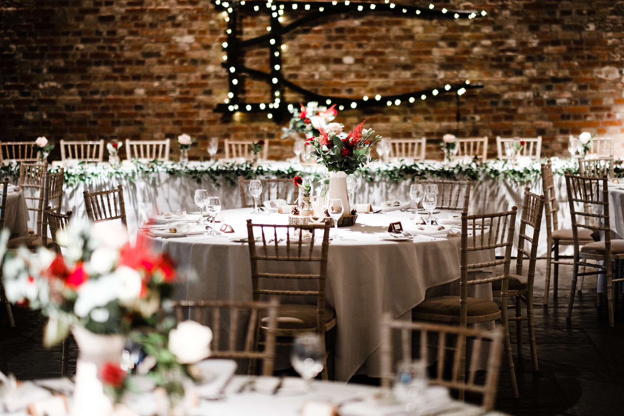 November wedding at Cooling Castle Barn