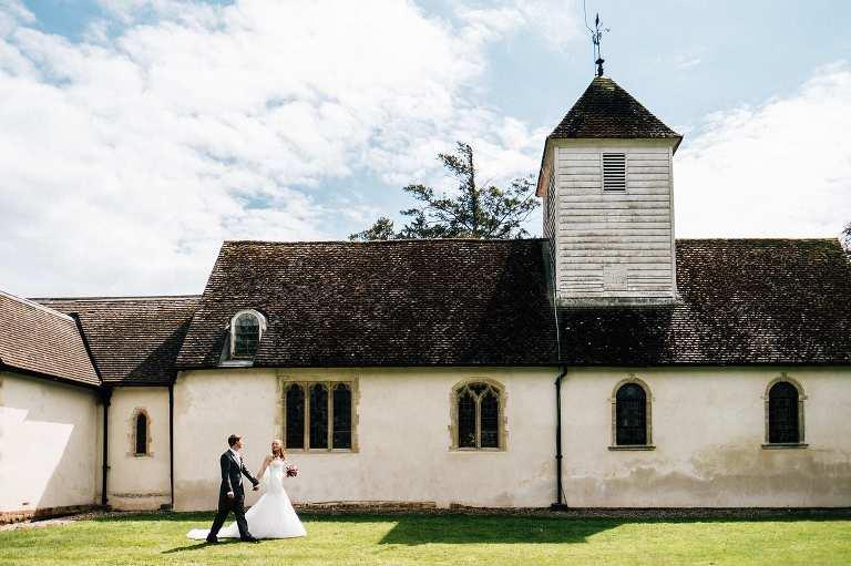 Wasing Park wedding in Berkshire