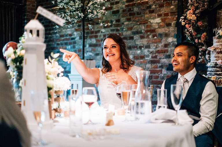 August wedding at Cooling Castle Barn
