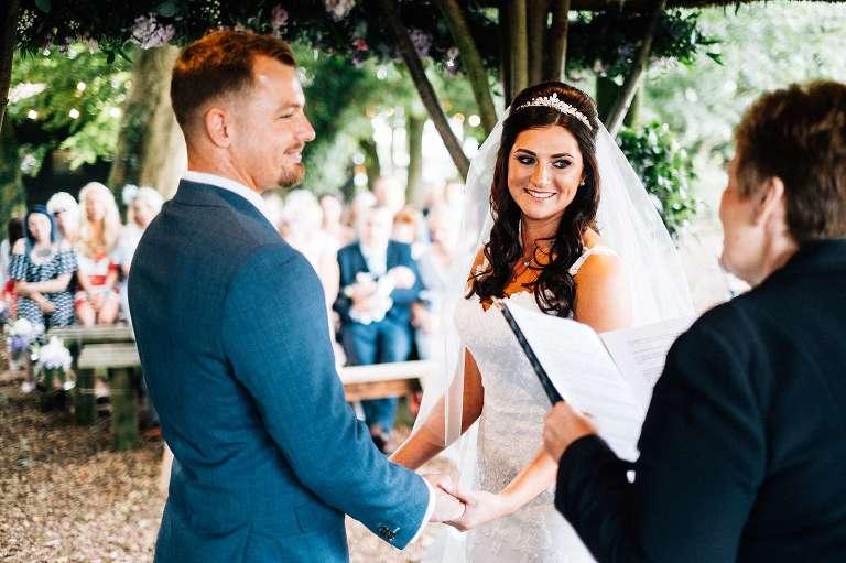 Crown Lodge wedding in Kent