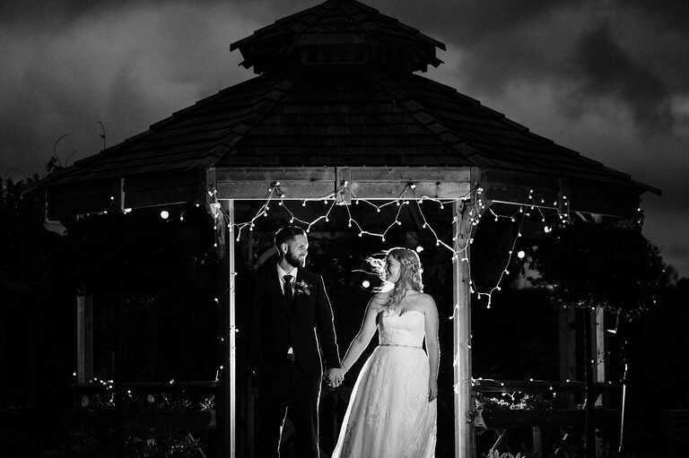 Intimate wedding at The Secret Garden in Kent