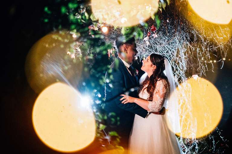 October wedding at The Gardens in Yalding