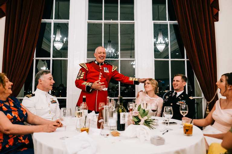 The Trafalgar Tavern in Greenwich wedding