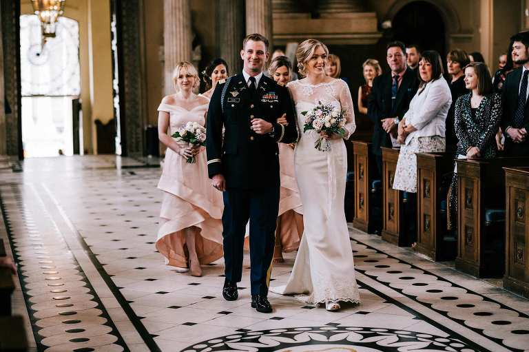 Old Royal Naval College Chapel wedding