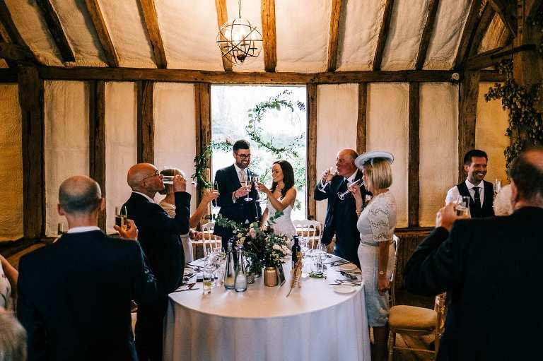 Rustic wedding at Winters Barns in Kent
