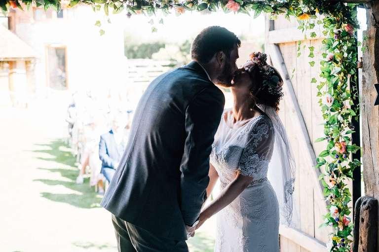 Gorgeous September wedding at Ruffynes Barn