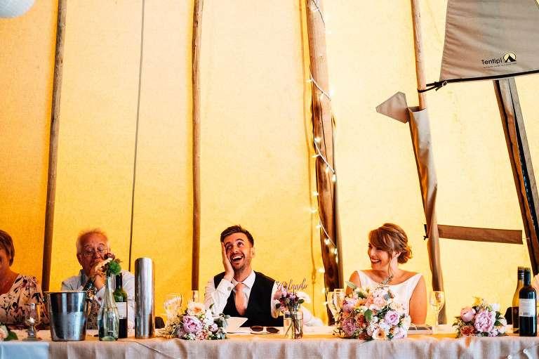 Summer wedding at The Gardens in Yalding