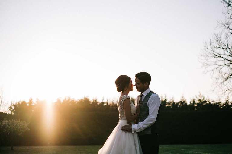 Sunny April Wedding at Winters Barns
