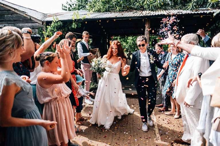 The Dreys woodland wedding